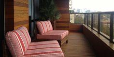 Varanda residencial - Porto Alegre - RS - Brasil - Creare Paisagismo