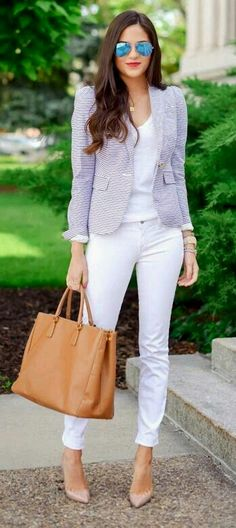Outfit con blazer •