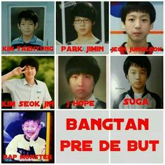 """""""I'm not ugly I'm just predebut"""" but they still looking so fineee"""