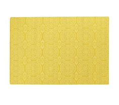 Boy's/Guest Room | Elegant Timeless Yellow Rug 5 X 7 | Land of Nod | $279.00
