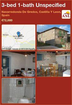 3-bed 1-bath Unspecified in Navarredonda De Gredos, Castilla Y Leon, Spain ►€72,000 #PropertyForSaleInSpain