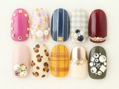 Holiday Nail Art Round-Up: Tweed & Plaids