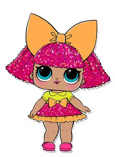 Risultati immagini per clipart scrap digital lol surprise Lol Doll Cake, Doll Party, Lol Dolls, Big Eyes, Cute Cartoon, Paper Dolls, Baby Dolls, Coloring Pages, Party Themes