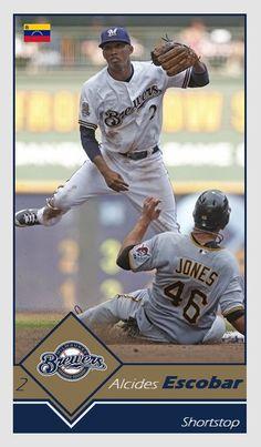 Milwaukee Brewers, Mlb, Baseball Cards, Sports, Baseball Players, Hs Sports, Excercise, Sport, Exercise