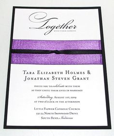 ribbon embellish wedding invitations how to