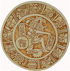 Mayan Ball Player Ulama Palenque $99.95