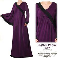 Dubai Batwing Kaftan Abaya Jersey Long Sleeves Maxi by MissMode21, $34.00