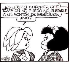 Mafalda #quino #quotes Like & Repin. Noelito Flow. Noel  Panda http://www.instagram.com/noelitoflow