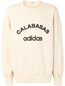 d753cc39 a adidas yeezy season 5 calabasas crew rib side sweatshirt jupiter size m  receipt