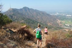 Hiking trails in Santa Monica (closer than Santa Barbara and looks like there are tons of great choices)