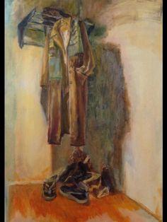 Zarina Omarieva, Nurkassa, 70 x 50, Oil on canvas /   Basware Art Collection