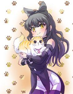Blake and a kitty