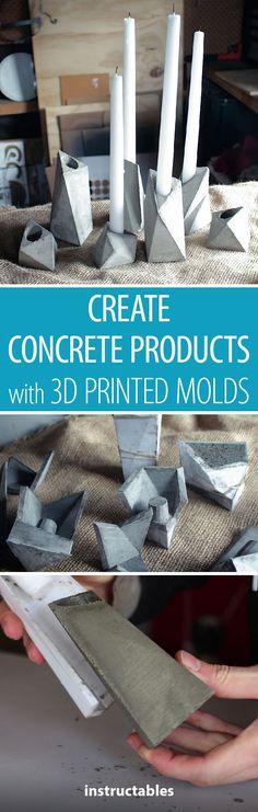 Die 60 Besten Bilder Von 3d Print Concrete Moulds In 2019