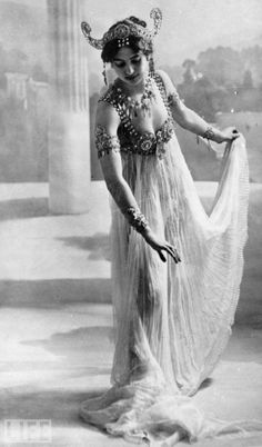 Mata Hari: Dancer, Stripper, Spy ... Scapegoat?  The world remembers her as Mata Hari, but when she was born to an ethnic German family in the Netherlands in 1876, she was Margaretha Geertruida Zelle, the eldest daughter in a relatively affluent family.