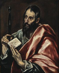 Paul - By El Greco; oil on canvas with paper extension; framed: 27 x 22 in. Canvas Paper, Oil On Canvas, Canvas Prints, Museum Of Fine Arts, Art Museum, Friedrich Ii, San Pablo, Spanish Painters, Frases