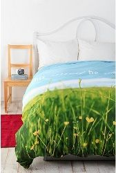 This Must Be The Place Duvet Cover - Multi - Full/Queen  $89.00