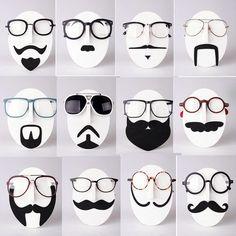 Schnurrbart Brillenhalter Brillenregal Ständer Display für Sonnenbrille Brillen