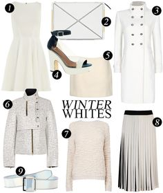 Wearing Winter Whites