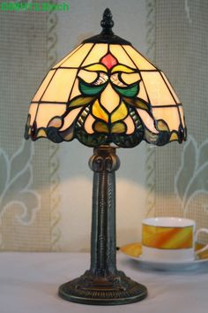 Baroque Tiffany Lamp	12S6-1T410