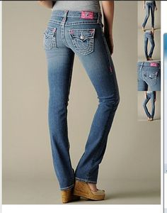 Women True Religion 26-32 Jeans - 0039 Pink Bar 11896a85af338