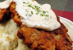 More Chicken Fried Steak Beef Recipes, Whole Food Recipes, Cooking Recipes, Fried Chicken Sauce, Eastern European Recipes, Czech Recipes, Dinner Entrees, Main Meals, Yummy Food