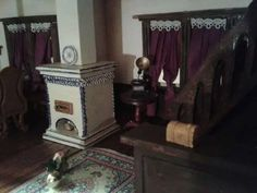 #Mezzanottis#Puppenhaus#dollhouse (13) Home Appliances, Wood, Puppets, Handarbeit, House, House Appliances, Kitchen Appliances, Woodwind Instrument, Appliances