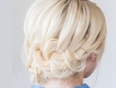 Hair How-To: Tucked Braid Updo