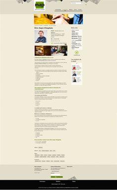 Intérieur du site www.artisans-art-perigord.fr - Page Artisans d'art - #site #web #périgord #artisan