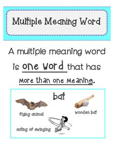 Examples of inferring meaning from context clues