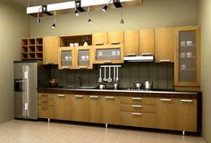 tủ bếp đẹp dành cho không gian nhỏ