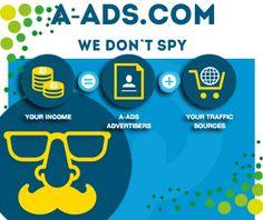 A-Ads: Gana BitCoins con Espacios Publicitarios en tu Blog, Foro o Página Web ~ :: DINERO para TOD@S ::