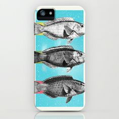 Fish iPhone & iPod Case by Danny Ivan - $35.00