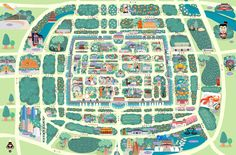 xian tourist map www.WestChinaGo.com Tourist Map, Chengdu, Attraction, City Photo, Tours, Travel, Viajes, Trips, Tourism