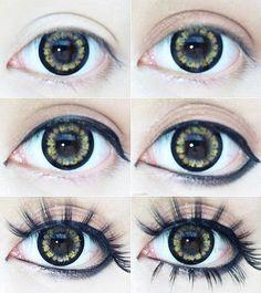Gyaru makeup how to