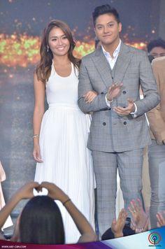 This is Kathryn Bernardo and Daniel Padilla (KathNiel BernaDilla) during the Parade of Star Magic Talents at ASAP at ABS-CBN Studio 10 last July 26, 2015. KathNiel BernaDilla is my favourite Kapamilya love team.