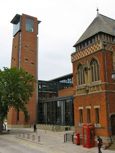 outside The Royal Shakespeare Company Theatre | Stratford
