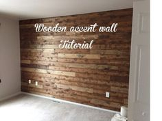 Diy Wood Accent Wall Living Room - Wooden Accent Wall Tutorial Flooring On Walls How To Create A Wood Pallet Accent Wall Home Home Living Room 27 Accent Wall Ideas To Transform Your Roo. Pallet Walls, Wooden Walls, Wooden Planks On Wall, Wooden Wall Bathroom, Wall Wood, Diy Wooden Wall, Accent Wall In Bathroom, Master Bedroom Wood Wall, Bedroom Accent Walls