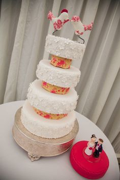 The Bottom Tier Of Our Wedding Cake Is A Dummy 2 Was