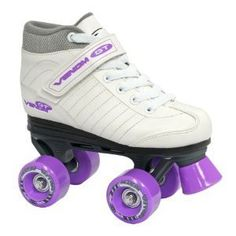 Get low with the Fun Roll. These Jr. Adjustable Roller Skates feature a low center of gravity that is safe and great for beginners! The flower accents on the boot will get your child in the mood to have fun! Roller Derby Skate Corp has been the leader in producing skate products for over 80... more details available at https://perfect-gifts.bestselleroutlets.com/gifts-for-teens/skates-skateboards-scooters/product-review-for-roller-skates-fun-roll-girls-jr-adjustable-small/