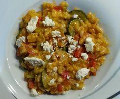 Rezept Griechisches Risotto von daniela-f.81 - Rezept der Kategorie Hauptgerichte mit Gemüse