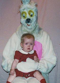 37 Creepy Easter Bunny Pics That'll Make Ya Fill Your Basket