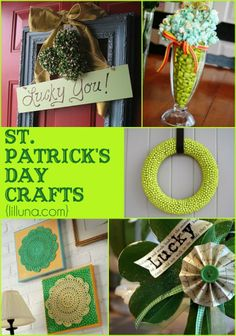 photos of cute saint patrick day crafts | ... st patrick s day centerpiece from jessekatedesigns st patty s day