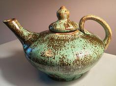 Vintage NC Pottery Teapot North Carolina Studio Art Pottery