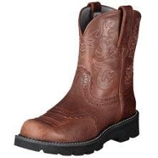 Ariat FatBaby Saddle #boots #shoes