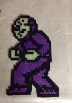 Friday the 13th Nintendo Jason Perler Bead on Etsy, $8.50