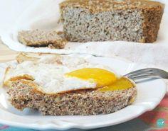 pão paleo low-carb sem lactose