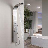 Une colonne de douche design et pratique, vous en rêvez ? Pour créer la salle de bain dont vous rêvez, faites confiance à notre site et à son grand choix d'articles de qualité. Et si vous optiez pour une colonne de douche en inox ? Vous allez apprécier ses jets massant et son style moderne, c'est certain. Vous préférez une colonne de douche en bambou pour donner une touche zen à votre pièce ? Prenez le temps de parcourir tous nos modèles.