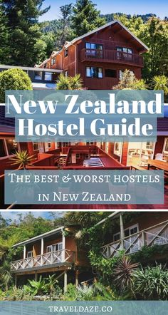 A guide to the best & worst hostels in New Zealand. I've reviewed over 20 hostels around the country to help you find the best ones to book.