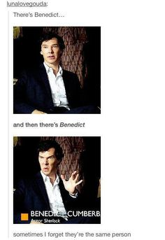 There's Benedict, then there's Benedict, who can tell me the similarities