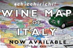 This wine map shows all of the DOC and DOCG areas. The map is suitable fro framing and it makes a fabulous gift. Italy Map, Italy Travel, Vacation Savings, Vacation Ideas, Chianti Classico, Wine Varietals, Regions Of Italy, Italian Wine, Wine Gifts